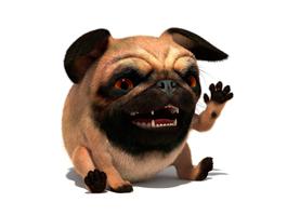 3D model Pug