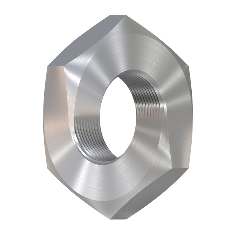3D model. Illusion. Impossible steel nut. nut Mobius