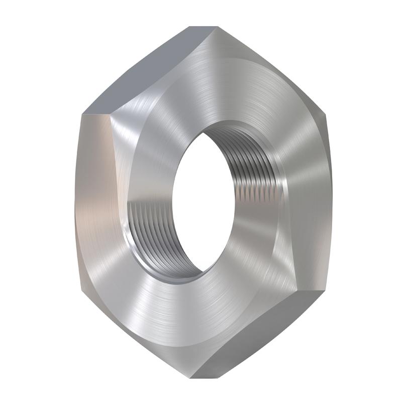 3D model. Illusion. Impossible steel nut. nut Mobius